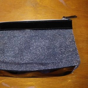 Lancome Paris glitter clutch / make up bag